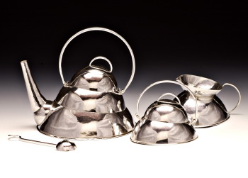 3 Tier Silver Tea Services